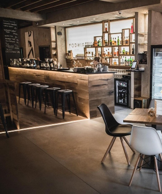 O nás - Podnik cafe bar